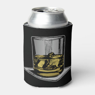 Cocktail and Napkin Design Can Cooler