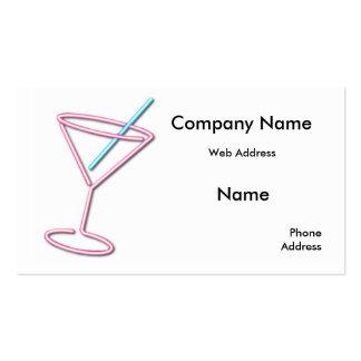 Cocktail Bar Custom business cards