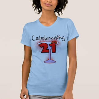 Cocktail Celebrating 21 Tshirts and Gifts