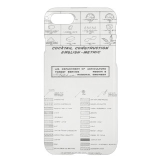 Cocktail Construction Guide iPhone 7 Case