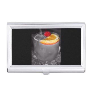 Cocktail Drink Happy Hour Bartending Business Card Holder
