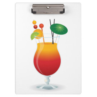 COCKTAIL GLASS CLIPBOARD