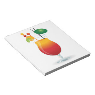 COCKTAIL GLASS NOTEPAD