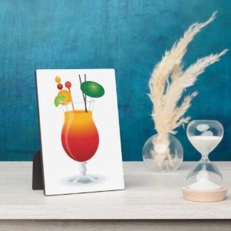 COCKTAIL GLASS PLAQUE