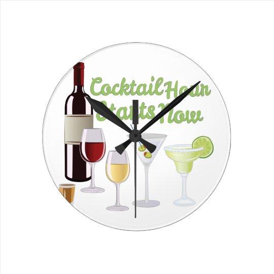 Cocktail Hour Clocks