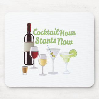 Cocktail Hour Mouse Pad