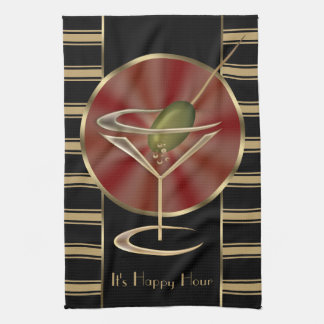 Cocktail Lounge Kitchen Towel