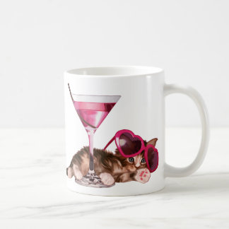 Cocktail maine coon coffee mug