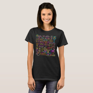 Cocktail Mixing Neon Colors T-Shirt