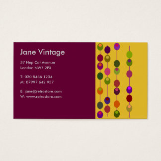 Cocktail Olives Business Card