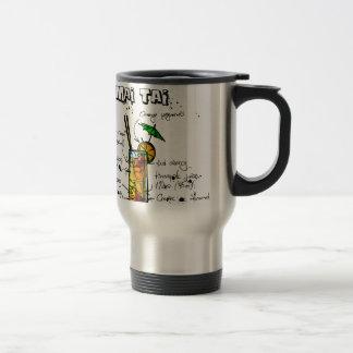 Cocktail Recipe Mai Tai 15 Oz Stainless Steel Travel Mug