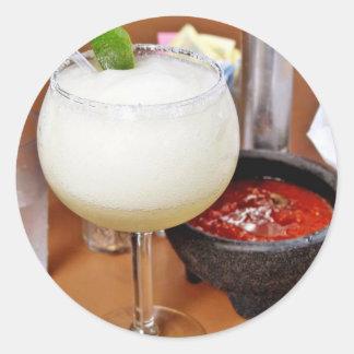 Cocktail Round Sticker