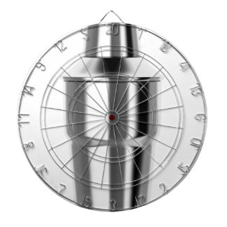 Cocktail shaker dartboard
