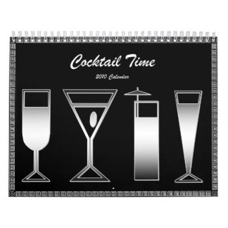 Cocktail Time 2010 Calendar
