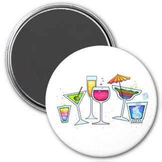 COCKTAIL UP GLASSES MAGNET