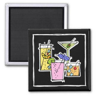 Cocktail Variety Kitchen Magnet