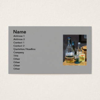 Cocktails and Mustard Business Card