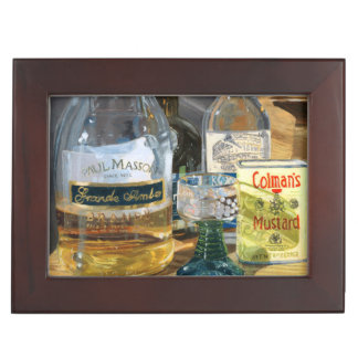 Cocktails and Mustard Keepsake Box