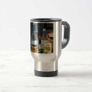 Cocktails and Mustard Travel Mug