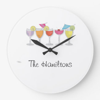 cocktails clock