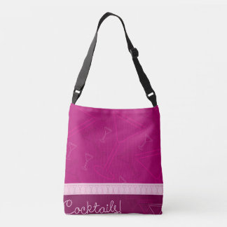 Cocktails! Crossbody Bag