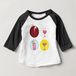 Cocktails cute ethno baby T-Shirt