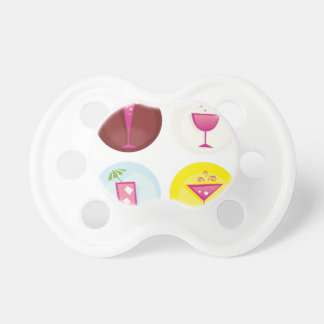 Cocktails cute ethno pacifier