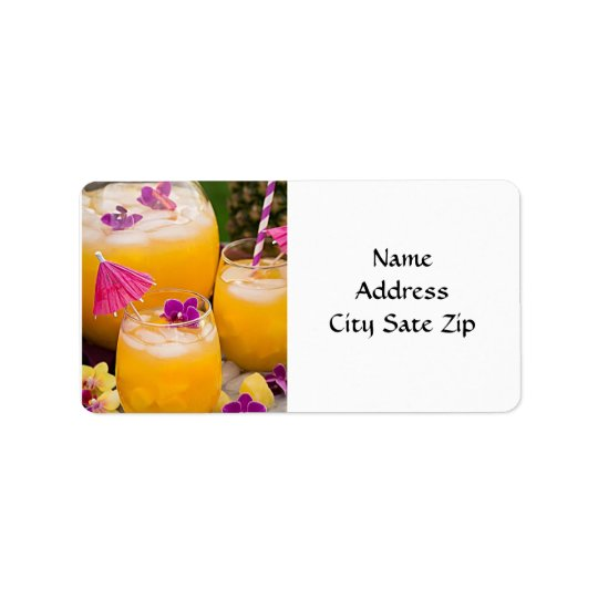 **COCKTAILS GALOUR** RETURN ADDRESS LABELS