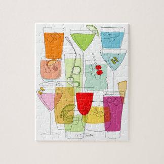 Cocktails jigsaw jigsaw puzzle