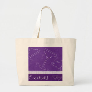 Cocktails! Large Tote Bag