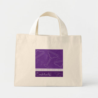 Cocktails! Mini Tote Bag