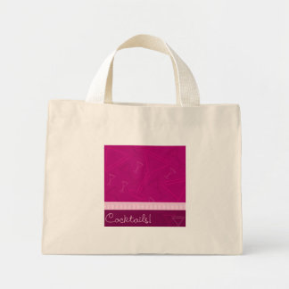 Cocktails! Mini Tote Bag