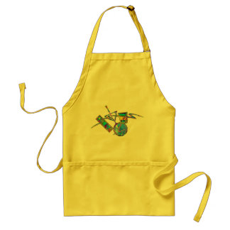 Cocktails, Mixed Drinks, Beverages 3 Adult Apron