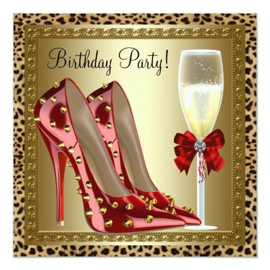 verjaardag vrouw schoenen