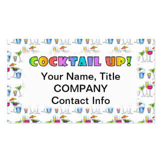 COCKTAILS UP! BUSINESS CARD