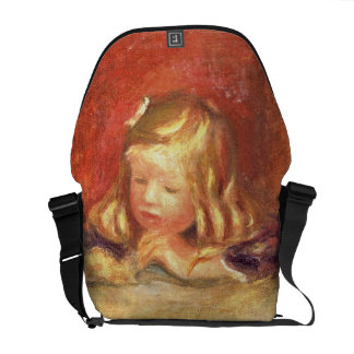 Coco at the Table (Claude Renoir Reading) 1905 (oi Courier Bag