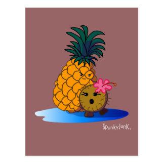 Coco & Badapple Postcard