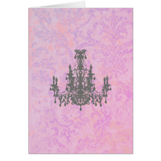 Coco Chandelier - (Includes White Envelope) Card