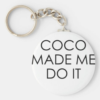 coco keychain