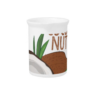 Coco Nuts Pitcher