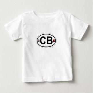 Cocoa Beach - Oval. Baby T-Shirt