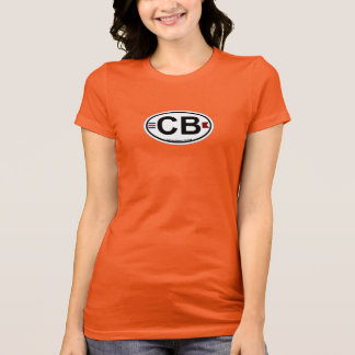 Cocoa Beach - Oval. T-Shirt