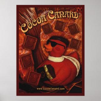 Cocoa Canard  Poster