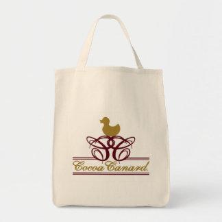 Cocoa Canard Tote Bag