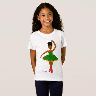 Cocoa Cutie Christmas Ballerina (Kiara) T-Shirt