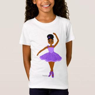 Cocoa Cutie Christmas Ballerina Purple(Mahogany) T-Shirt