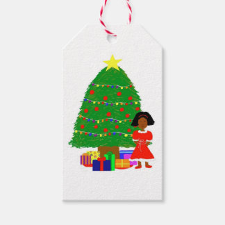 Cocoa Cutie Christmas Tree Gift Tags