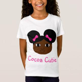 Cocoa Cutie Mocha Pink Bows T-Shirt