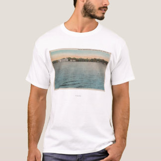 Cocoa, Florida - View of Brevard Hotel & Indian T-Shirt