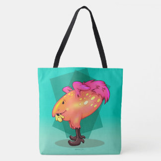 COCOA FUNNY MONSTER CARTOON TOTE BAG